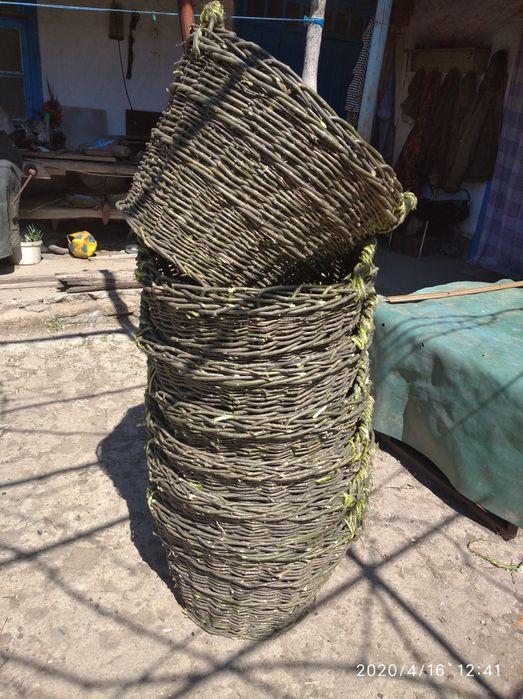 Корзина плетёная с лозы Карналеевка - изображение 1
