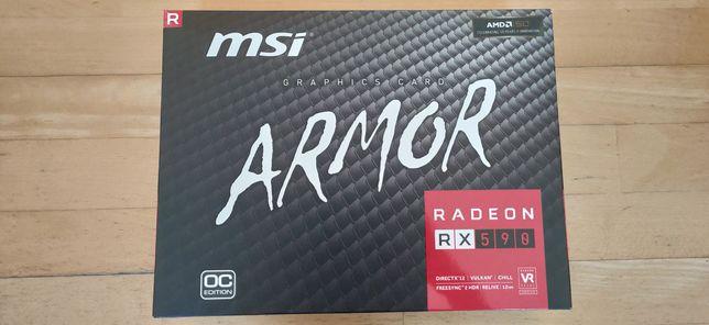 MSI armor Rx 590 OC 8Gb