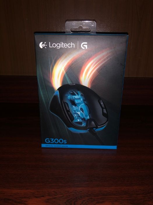 Мышь Logitech G300S Optical Gaming Mouse (состояние новое) Киев - изображение 1