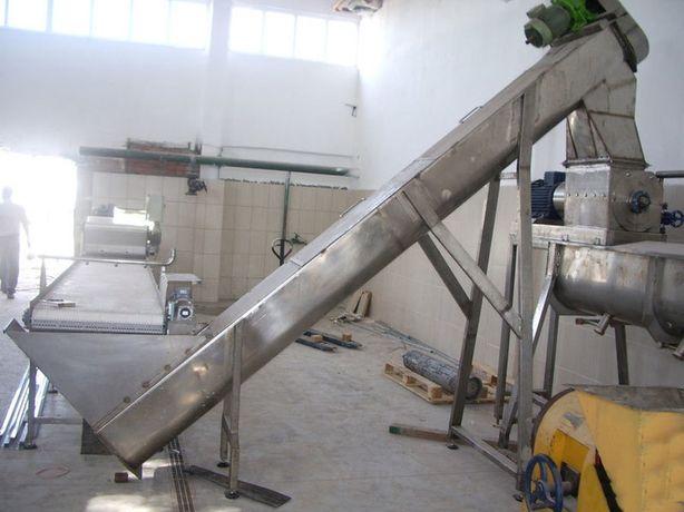 ремонт шнек из нержавейки обслуживание конвейер из aisi-304 техника