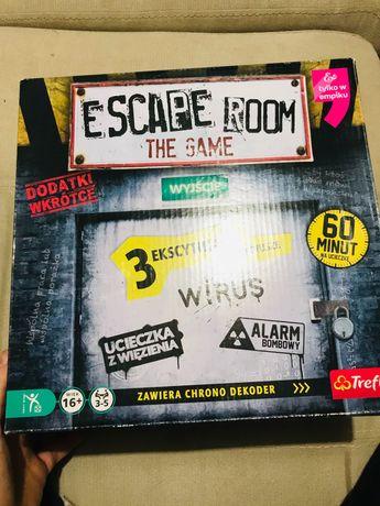 Escape room Trefl raz użyta