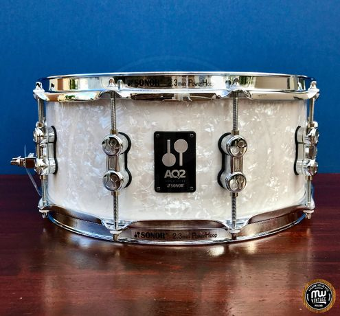 Werbel Sonor AQ2 Maple 14″ x 6″ White Marine Pearl