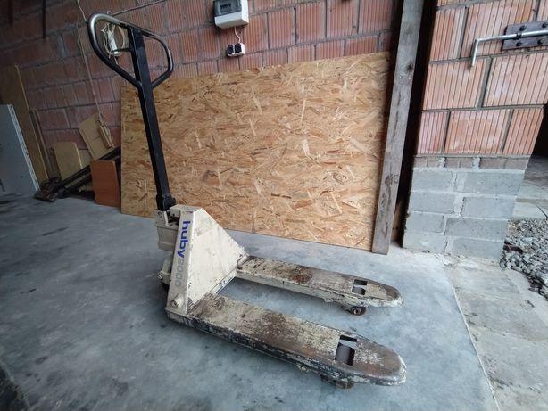 Paleciak ręczny wózek paletowy widłowy 80cm