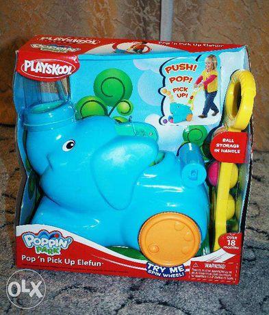 Новая в коробке каталка Playskool Elefun ,,Весёлый слоник,,