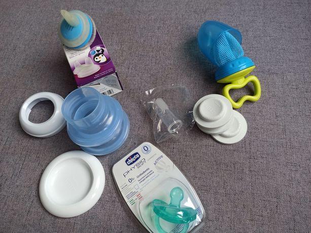 Nowy zestaw dla niemowlaka Chicco, Avent, siateczka do pokarmów