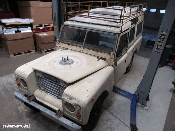 Land Rover série 3 109 gasolina peças usadas