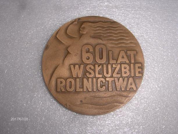 Medal pamiątkowy 60 lat w służbie rolnictwa