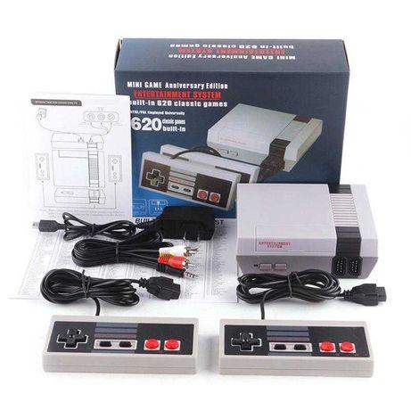 Игровая Ретро 8 бит приставка GAME NES с джойстиками и играми 8bit