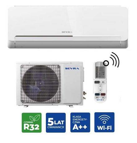 Klimatyzacja Sevra 3,5kW z montażem Wi-Fi  jonizator Łódź i okolice
