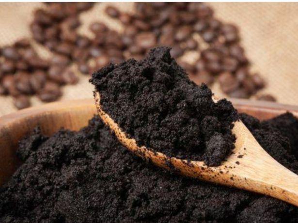 Borras de café usadas