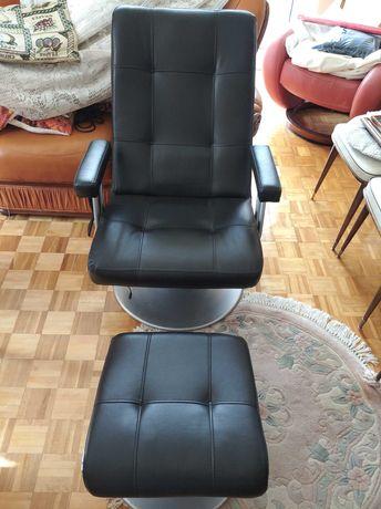 Fotel masujący z podnuzkiem nowy