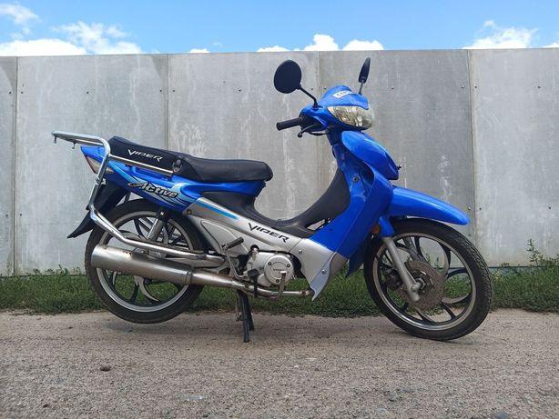 Скутер, мотоцикл, мопед VIPER в отличном состоянии