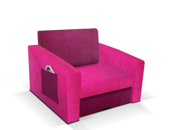 Fotel rozkładany do funkcji spania! Pojemnik, różne kolory! niska cena