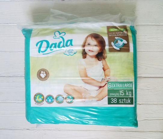 Підгузники DADA 6 Extra Large 16 + кг 38 шт Польща