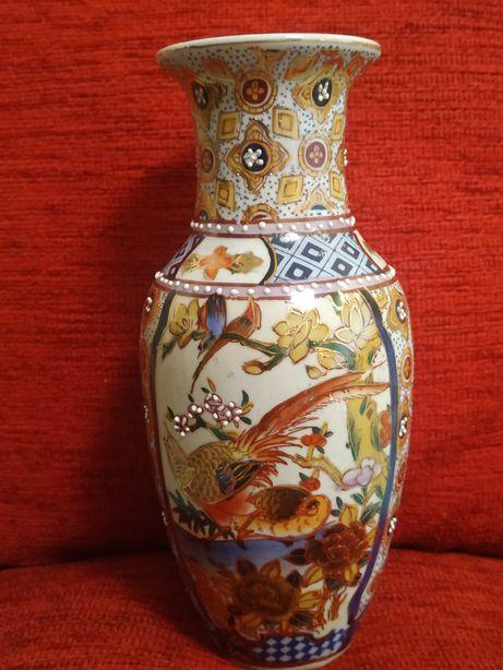 Китайская ваза, эмаль/позолота
