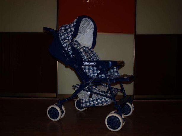 Детская коляска трансформер зима-лето CHICO Magic с паспортом Италия