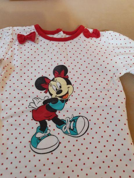 Bluzka Minnie Disney, rozmiar 86