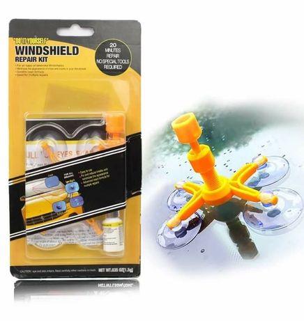 Набор для ремонта лобового стекла Sunroz Windshield Repair Kit