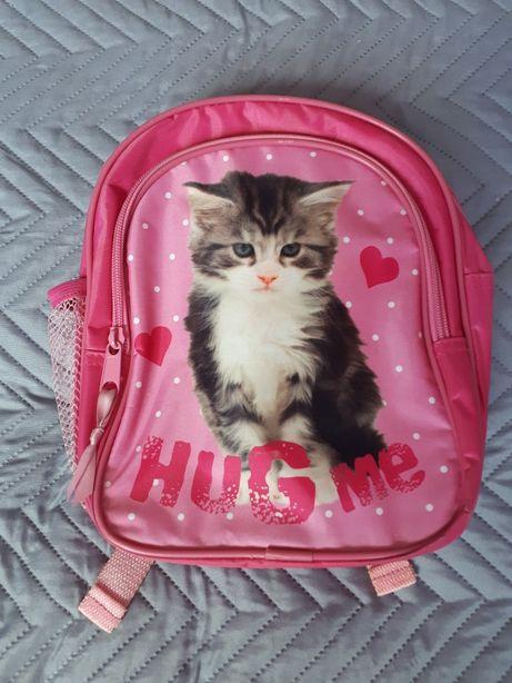 Plecak, plecaczek, kot, kotek