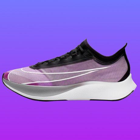 Кроссовки Nike Zoom Fly 3 оригинал для бега asics adidas under armour