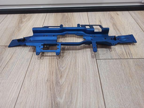 Podwozie aluminiowe traxxas 3mm niebieskie revo 3.3 spaliniwe erevo
