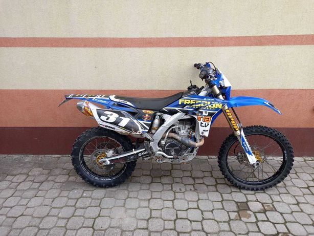 Motor Enduro Yamaha Wr 250f