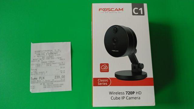 Kamera IP HD Foscam C1 czarna