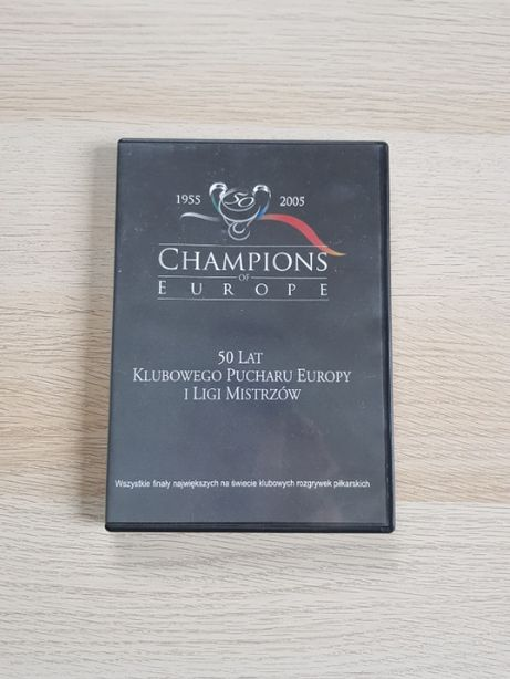 Champions of Europe Film DVD