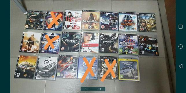 Jogos ps3 playstation 3 lote 17 jogos