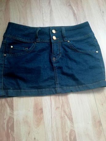 Krótka, dżinsowa spódnica ROYAL