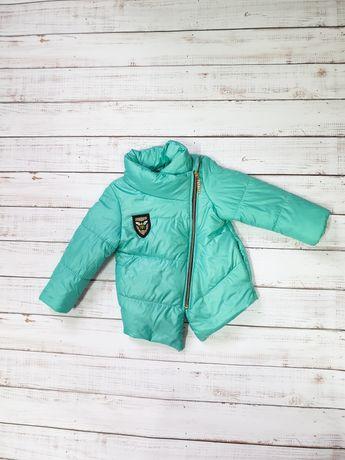 Теплая весенняя курточка для девочки
