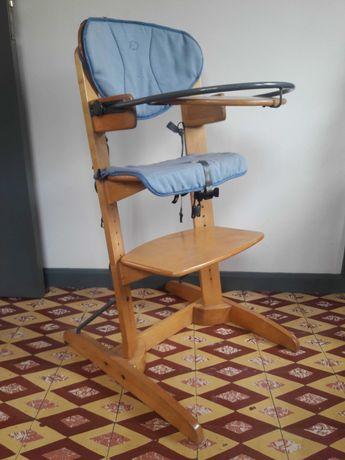 Cadeira ajustável de refeição em Madeira, Bebé Confort