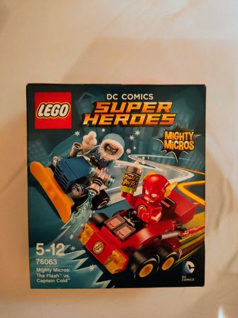 LEGO® 76063 DC Super Heroes - Flash kontra Kapitan Cold unikat