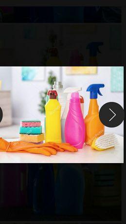 Прибирання квартир,особняків 90 грн за годину