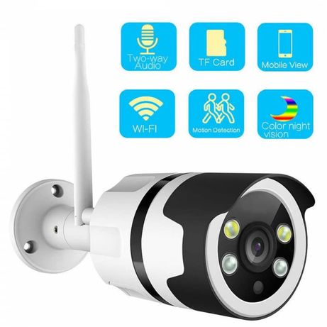 KAMERA IP ZEWNĘTRZNA monitoring HD IR-CUT sd IP66 Windows, Android iOS