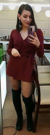 Krótki kombinezon- sukienka