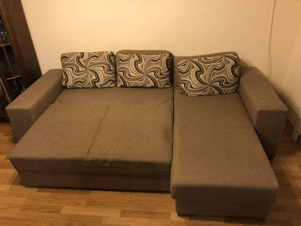 Rozkładana kanapa narożnik