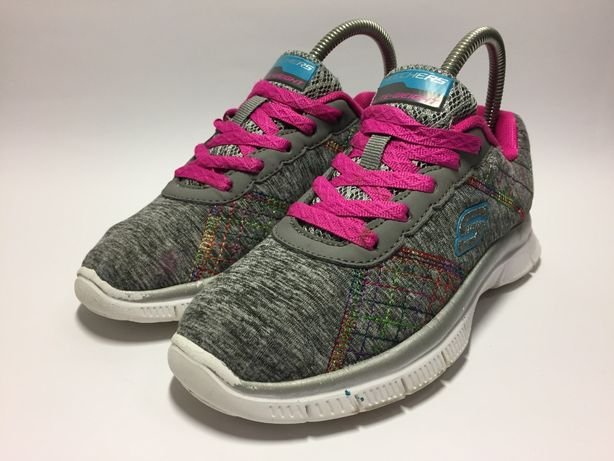 Детские кроссовки для девочки skechers lite-weight