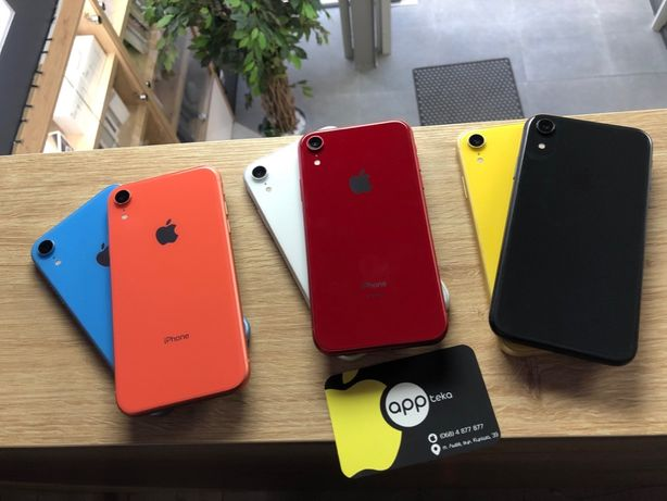 iPhone XR 64 gb neverlock Гарантія Appteka Дорошенка 35