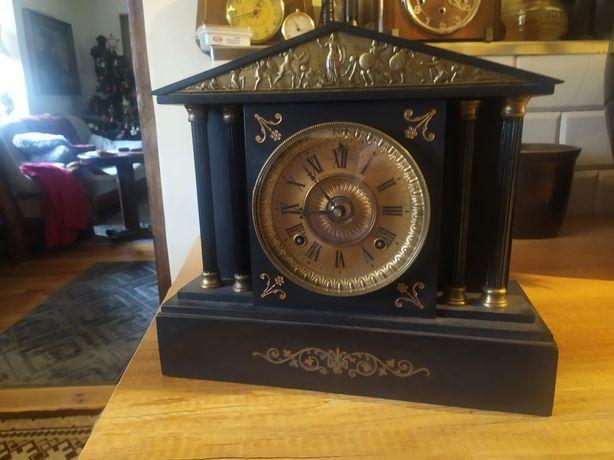 Kamienny zegar kominkowy antyk