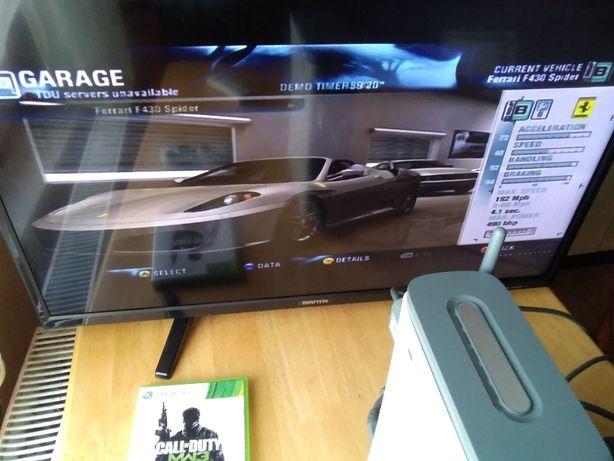 Zestaw Xbox360+HDD60GB Gwarancja 1 miesiąc Dowóz i podłączenie GRATIS
