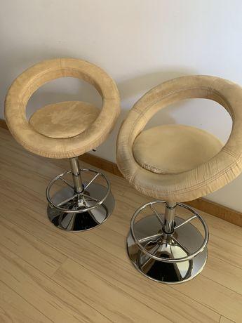 2 cadeiras altas com tratamento impermeabilização