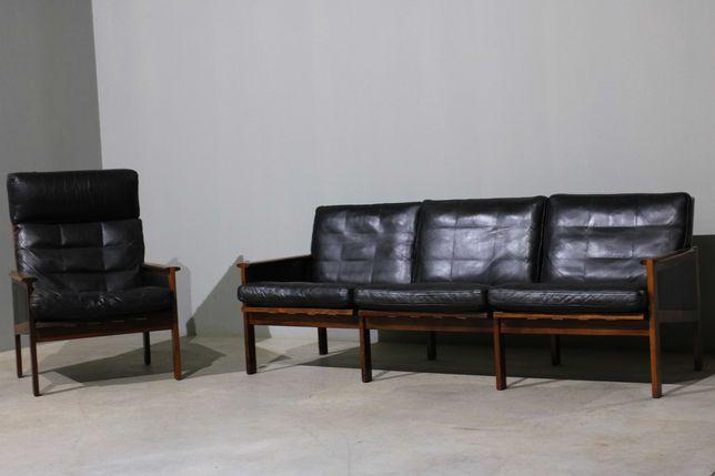 Sofá de 3 lugares + poltrona Illum Wikkelso | Mobiliário nórdico