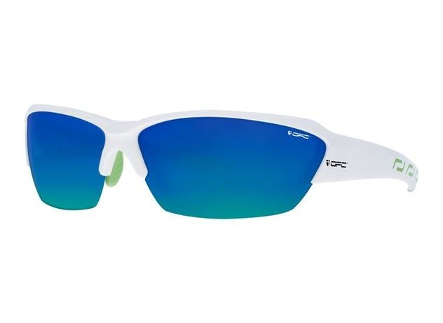 OKULARY OPC PRO BIKE 02 white green blue revo Polaryzacja