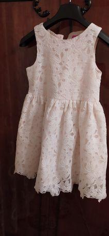Нарядное ажурное платье  Young Demension