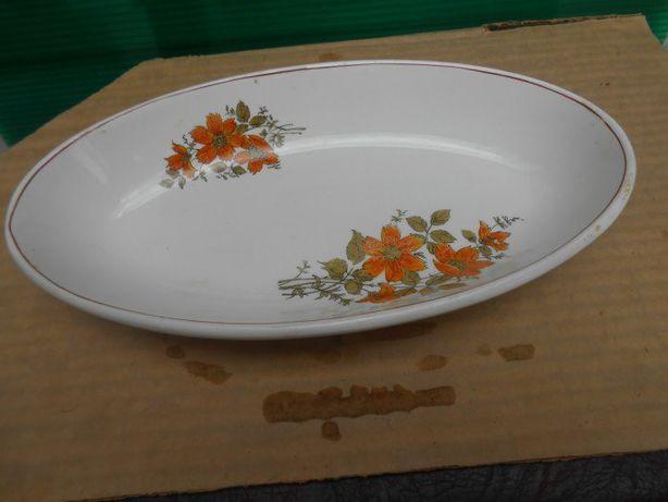 Фарфоровая посуда Селёдочница Овальное блюдо 31 х 17 см высокий бортик