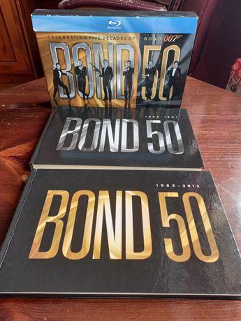 James Bond-  złota edycja filmów  na Blu -ray.