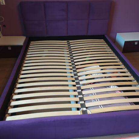 Rama łóżka + stelaż stan idealny