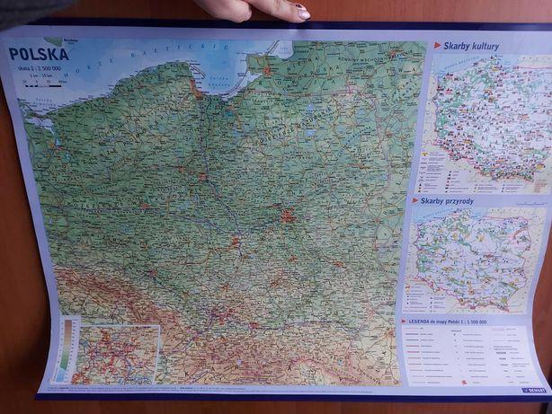 Sprzedam mapę Polski