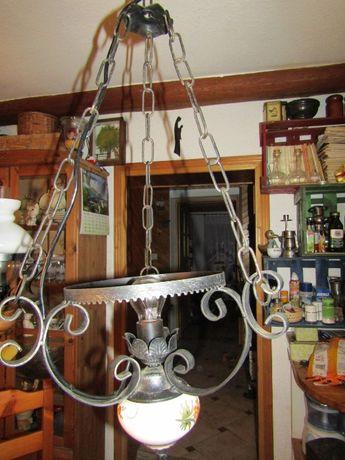 Stara lampa ceramiczna